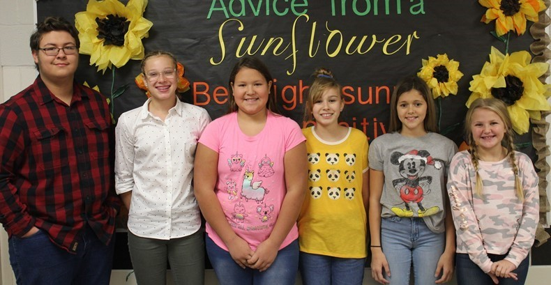 TVMS November Students of the Month