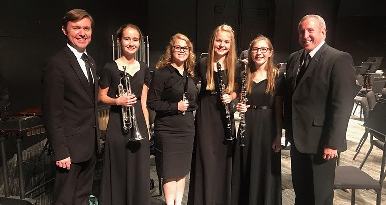 Ohio University Honor Band members