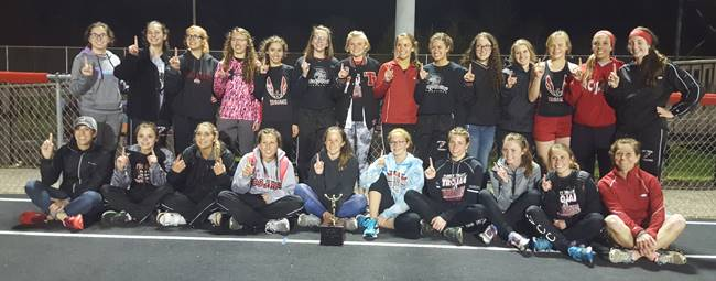 2018 Girls Track Team