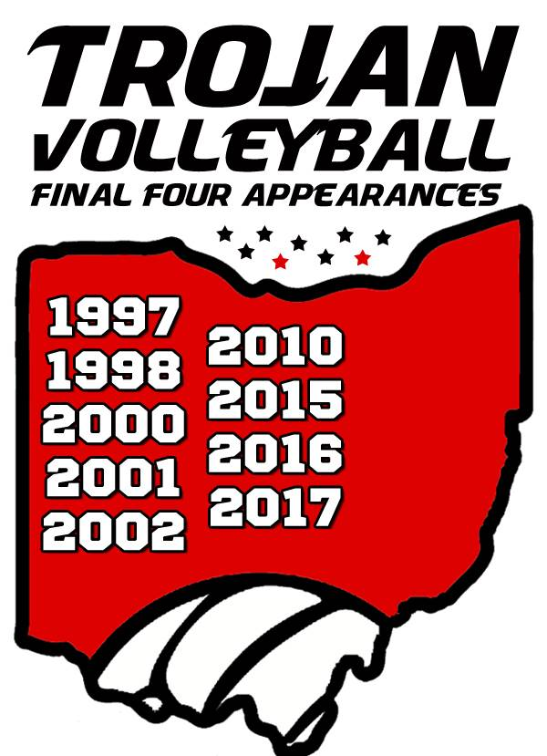 Trojan Volleyball: Final Four Appearances