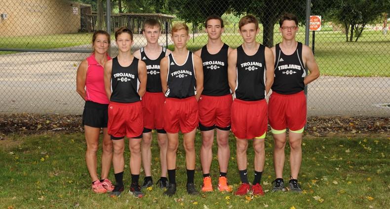 2018 Boys' Cross Country Team