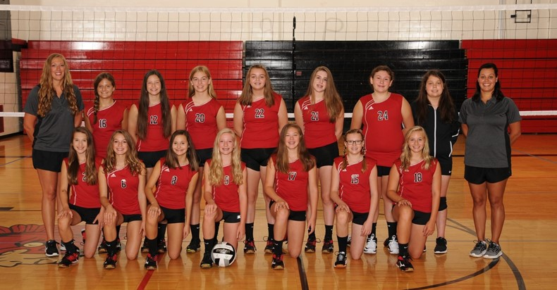 2018 TVMS Volleyball