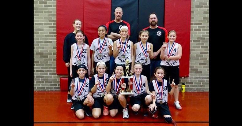 4th Grade Basketball - Quaker Classic Champions