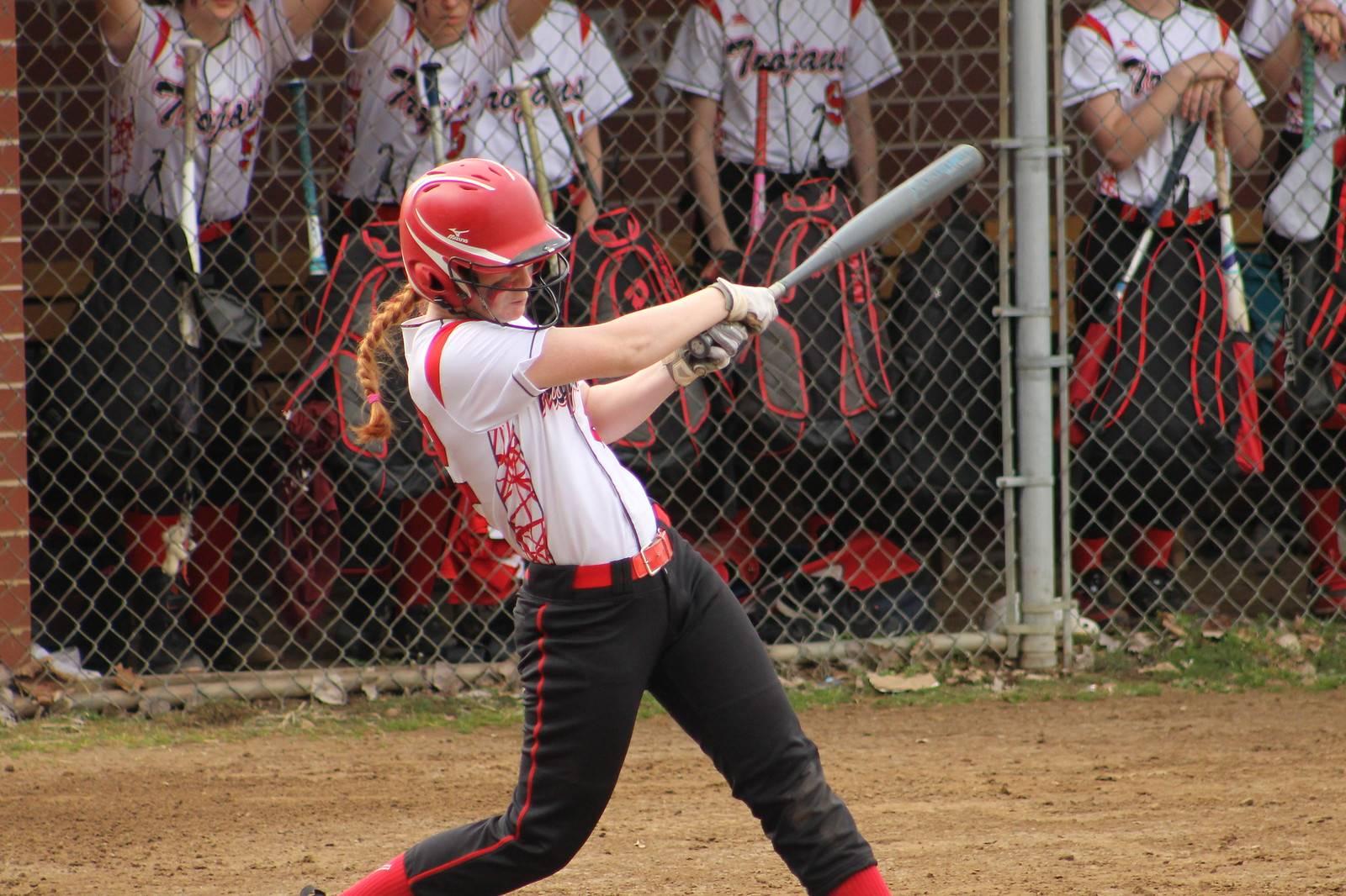 Susan hitting