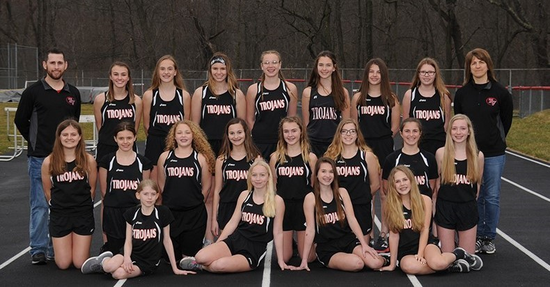 Middle School Girls' Track