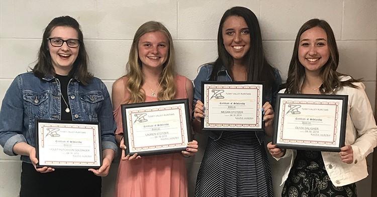 Tuscarawas Valley Ruritan Scholarship winners