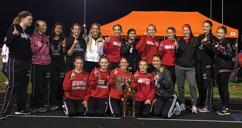 Girls Track IVC Champs!