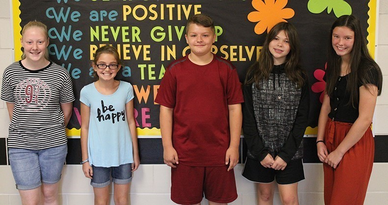 TVMS September Students of the Month