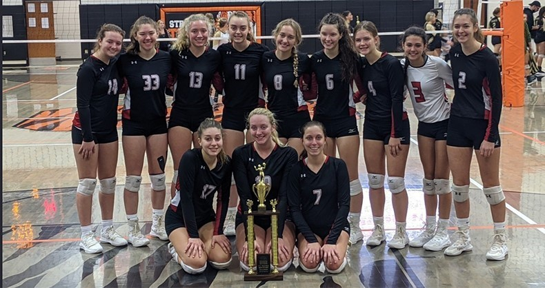 Volleyball - IVC South Champions