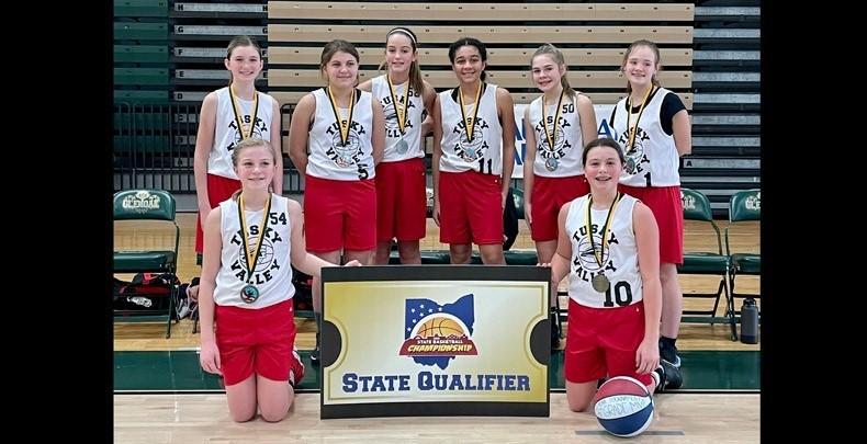 6th grade girls' basketball